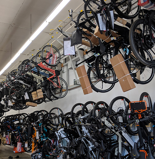 image of Overhead Bike Storage Solutions