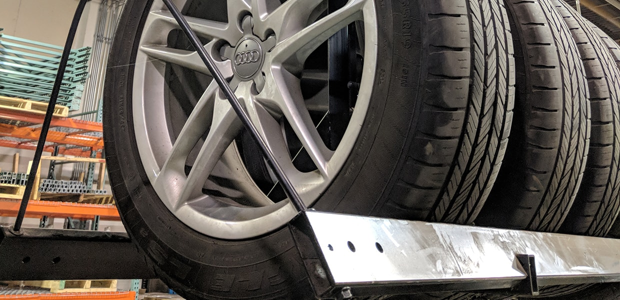 Maximize Your Space With Tire Storage Systems Lift And Store