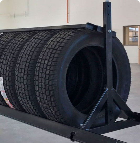 image of Commercial Tire Storage Solutions